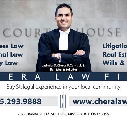 Chera Law Firm Ad Design