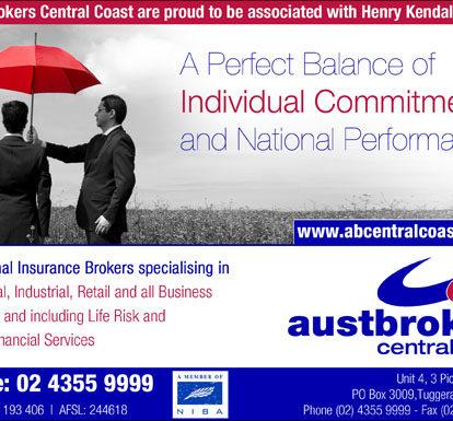 Austbroker Ad Design