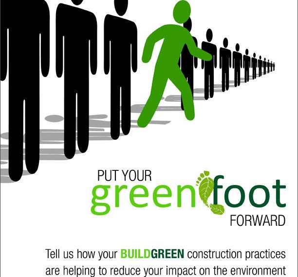Green Foot Forward Ad