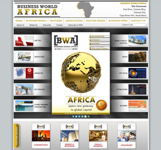 Business World Africa Website