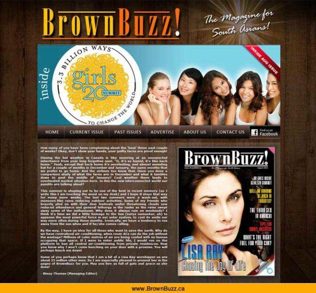 Brown Buzz Website