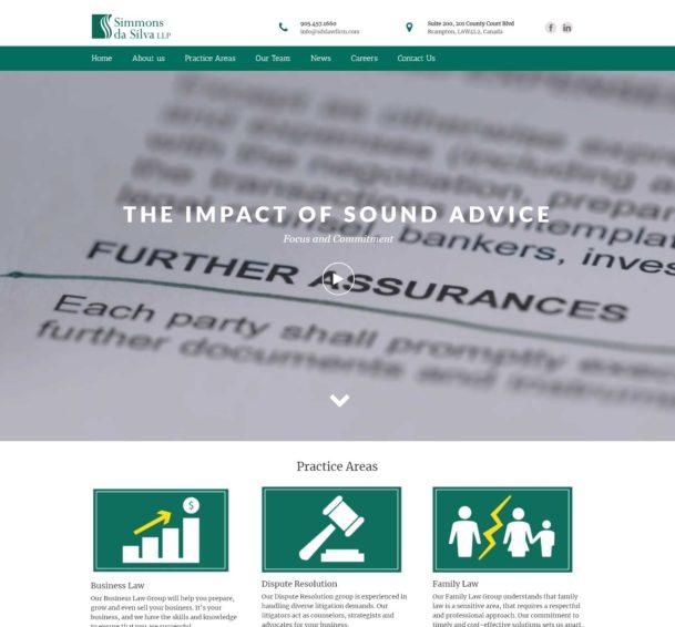 SDS Law Firm Website