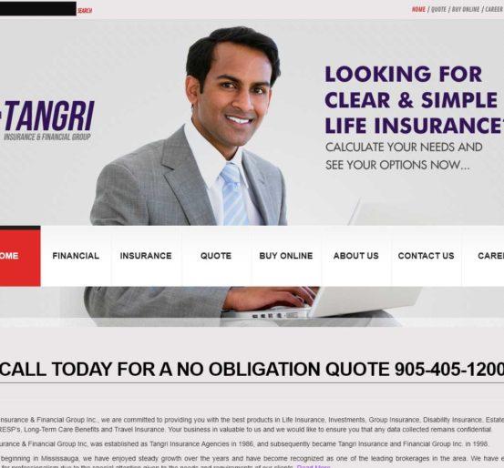 Tangri Insurance Website