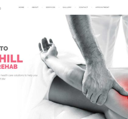 Westhill Physio Website