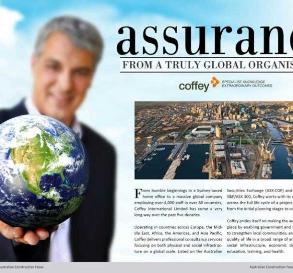 coffey Magazine Layout Design